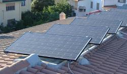 fonti di energia rinnovabile : pannelli solari