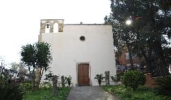 Façade of the church of San Gavino